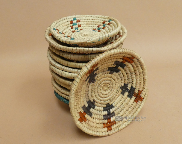 Hand Coiled Native Style Mini Baskets