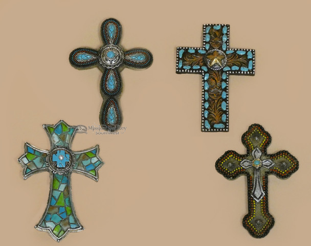 """Assorted 3"""" Cross Magnets"""