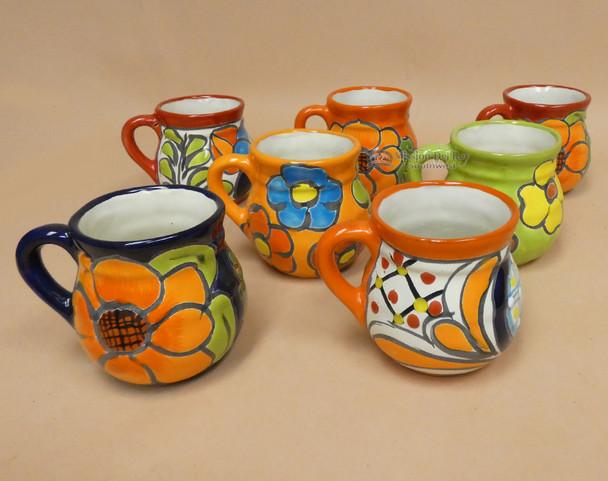 Assorted Hand Painted Talavera Mugs