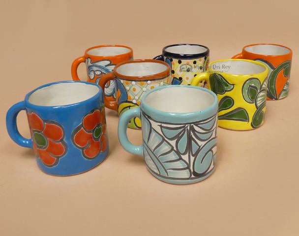 Assorted Classic Hand Painted Talavera Mugs
