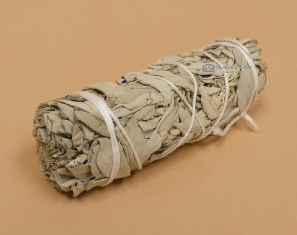 Bundle of white sage for smudging.
