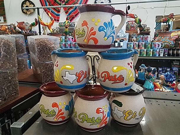 Bulk - El Paso Souvenir Clay Mug