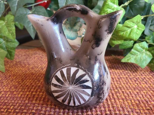Native American Wedding Vase -Horse Hair