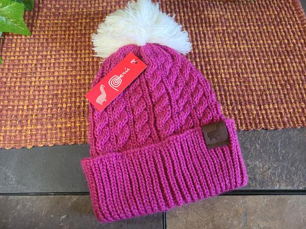 Soft 100% Alpaca Stocking Hat