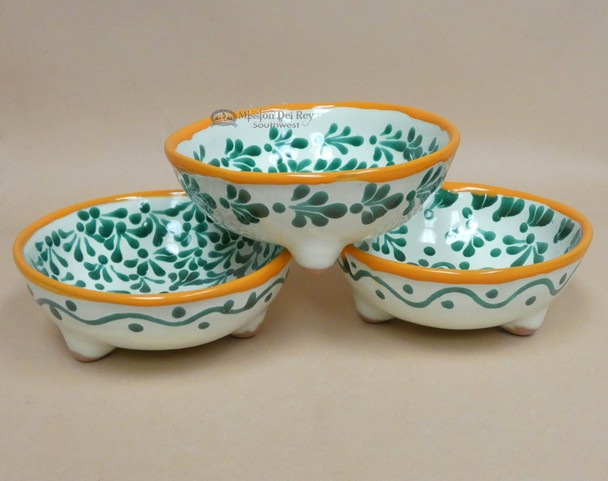Hand Painted Mexican Ceramic Bowl