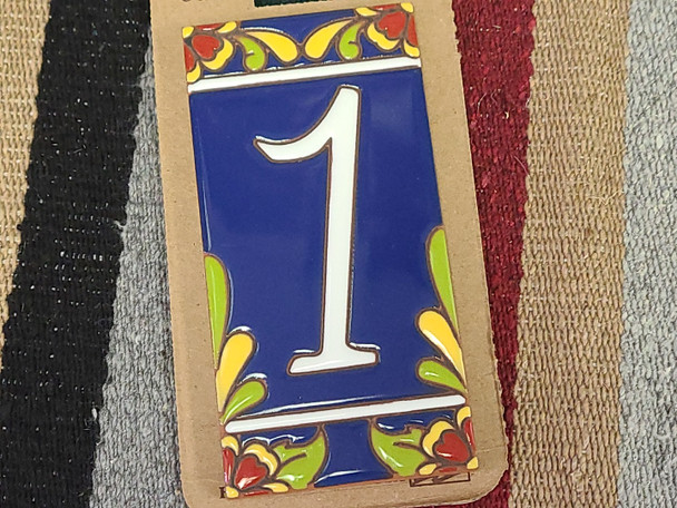 Southwestern Address Number Tile #1