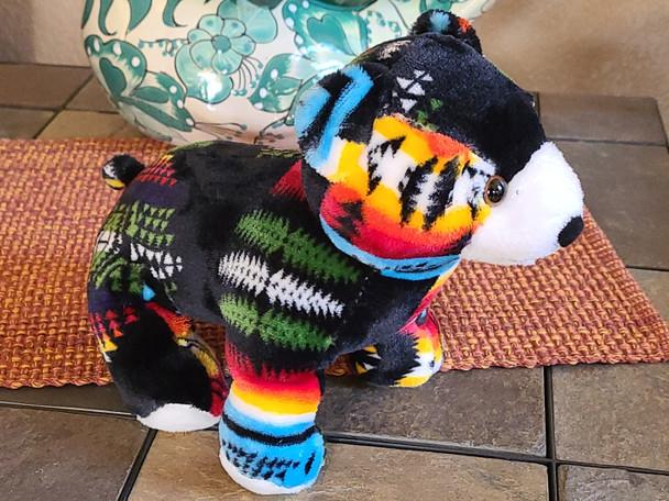 Southwest Plush Stuffed Animal -Black Bear