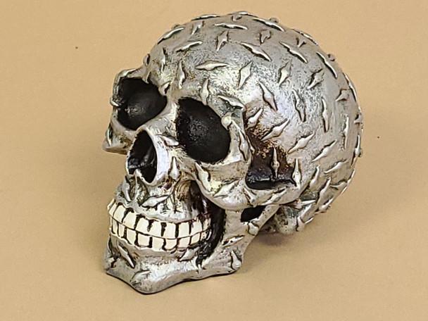 Diamond Plate Skull