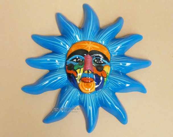 Hand Painted Ceramic Sun