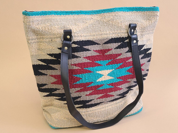 Southwestern Hand Woven Rug Bag