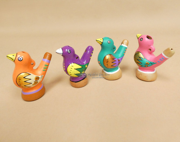 Hand Painted Water Whistle Flutes