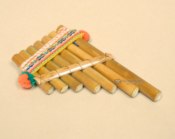 """Native Andean Pan Flute 5"""""""