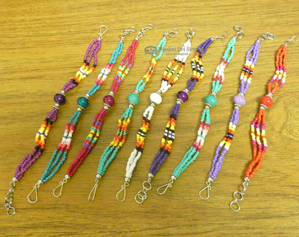 Assorted Hand Beaded Stone Bracelets