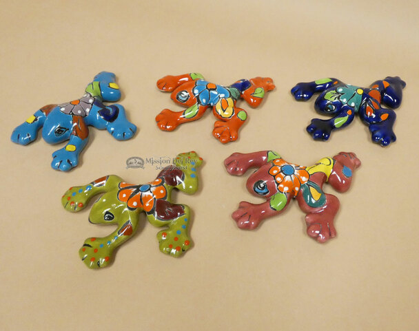 Assorted Hand Painted Talavera Frogs