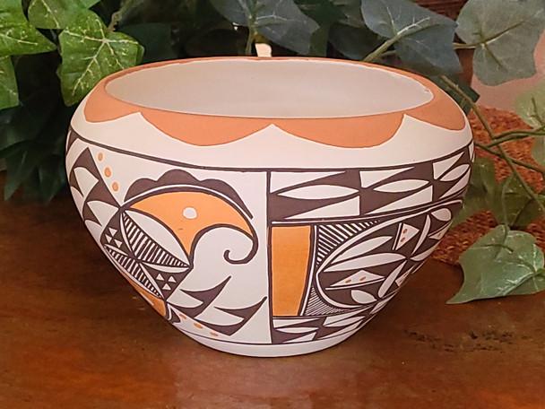 Large Acoma Hand Painted Pot