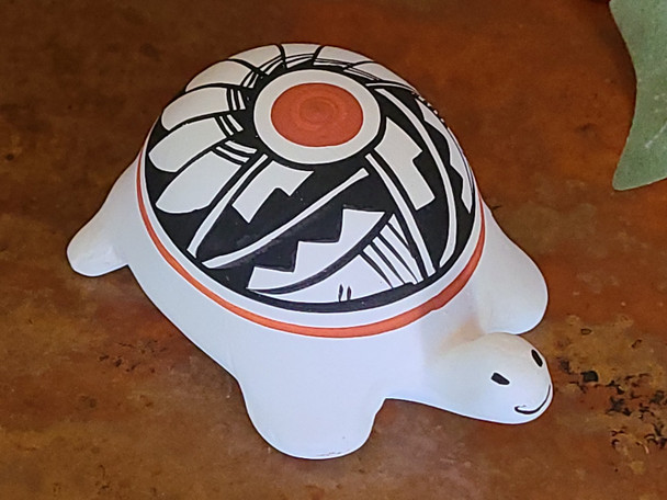 Native American Pottery Turtle