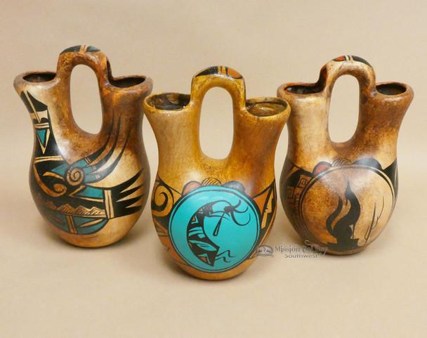 Hand Painted Wedding Vase