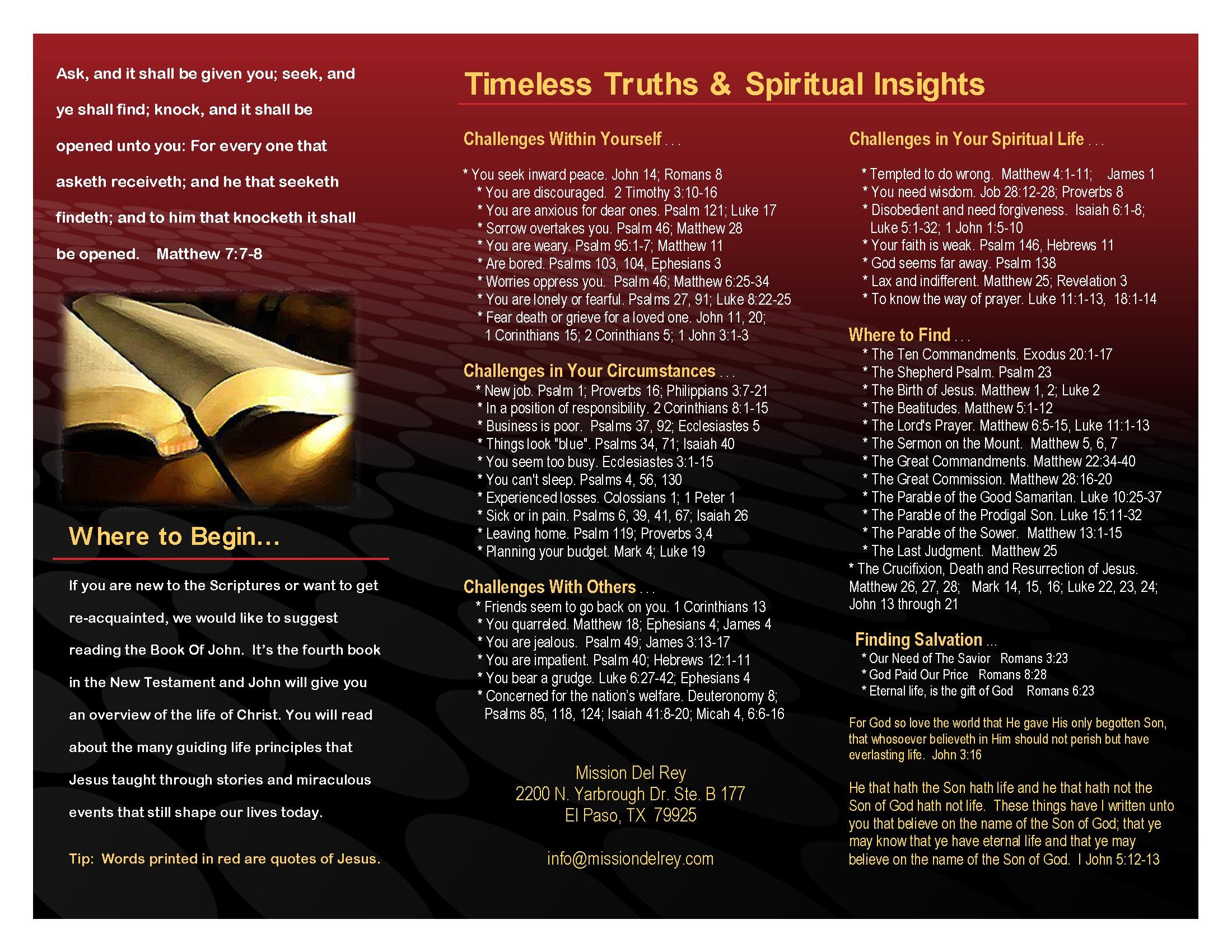 Free Gift Bible