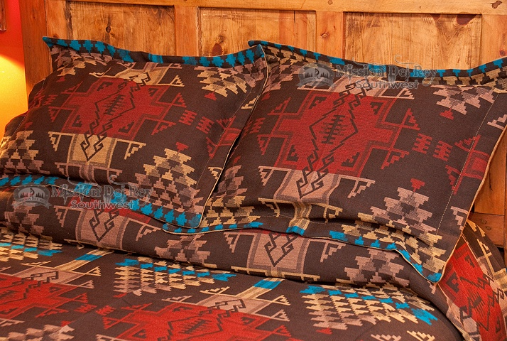 Southwest Pillow Sham Tewa