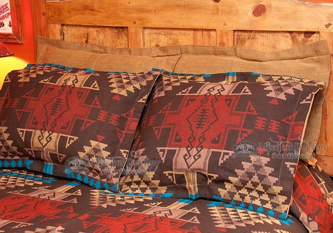 Southwestern Tewa Pillow Sham