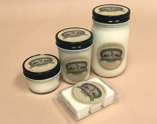 Artisan Handcrafted 100% Soy Candles & Wax Melts