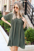 Olive - Babydoll Dress