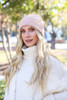 Blush - Ribbed Beanie from Dress up Boutique