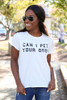 White - Dog Lovers Graphic Tee from Dress Up