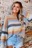 Striped Loose Knit Top from Dress Up