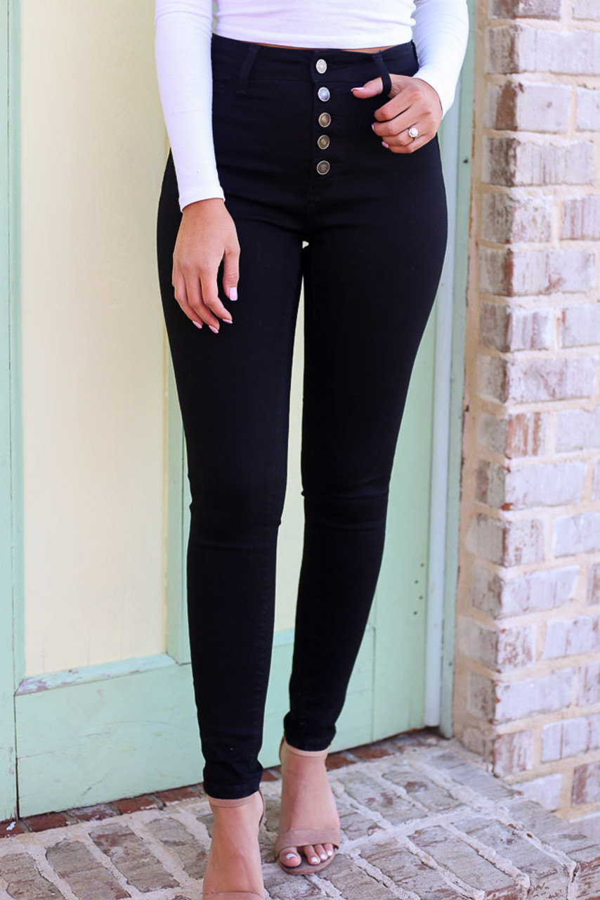 Sutton High-Rise Skinny Jeans