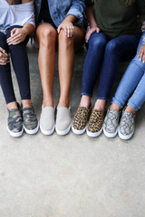 Leopard - Camo, Natural, and Snakeskin Platform Sneakers