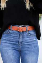 Camel - O-Ring Belt on Model