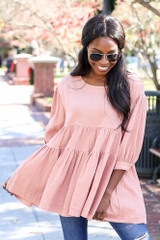 Blush - Tiered Babydoll Tunic from Dress Up