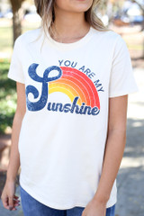 White - Graphic t-shirt by Dress Up