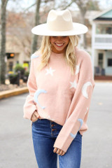 Blush - Celestial Luxe Knit Sweater from Dress Up