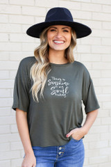 Olive - The Soul Graphic Tee from Dress Up