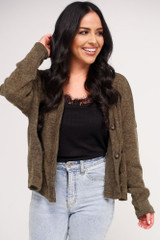Cropped Cardigan Sweater from Dress Up