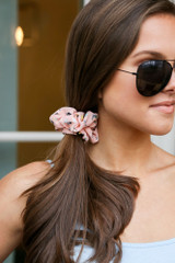 Speckled Blush Scrunchie from Dress Up On Model