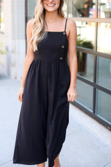 Model wearing the Wide Leg Jumpsuit from Dress Up