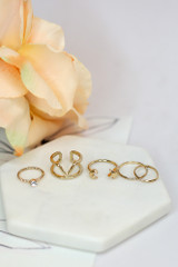 Blaire Dainty Ring Set