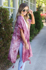 lightweight kimono with tassels dress up
