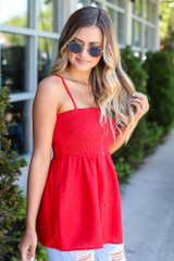 cute smocked cami from dress up