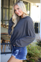 side view hoodie from dress up boutique