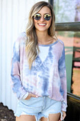 Grey - cute oversized pullover at dress up
