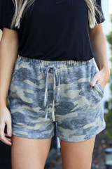 Blakely Camo Lounge Shorts