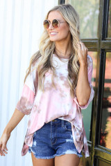 oversized tie-dye tee at shopdressup