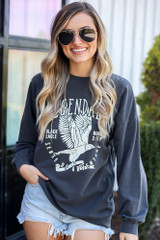 graphic pullover sweatshirt at dress up