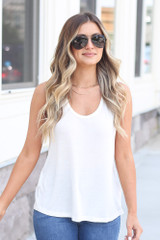 White - cute t-shirt