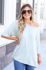 Mint - oversized t-shirt