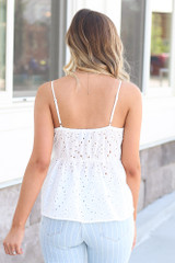 back view peplum top